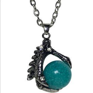 Jewelry - Luminous Glow In The Dark Dragon Claw Necklace